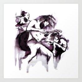 Biffy Clyro Art Print