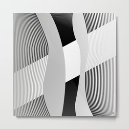 LinesVI/ Metal Print