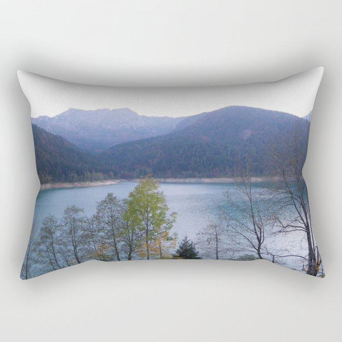 Take Me to the Lake Rectangular Pillow
