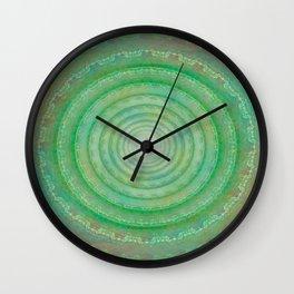 Spiral Deceit Wall Clock