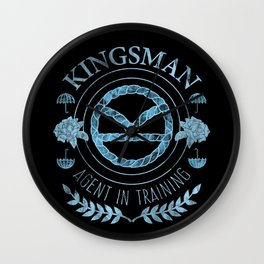 Agent In Training (Blue) Wall Clock