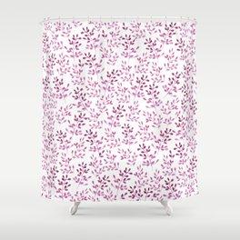 Ramitas Pink Shower Curtain