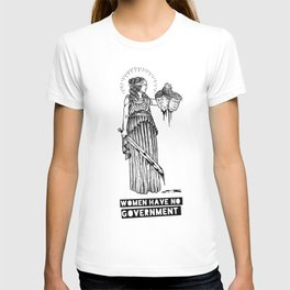Women Have No Government T-shirt