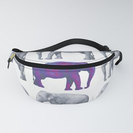 Elephants II Fanny Pack