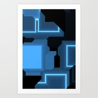 tron Art Prints featuring Tron by Fine2art