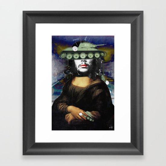 Mona Vara Collage 2 Framed Art Print