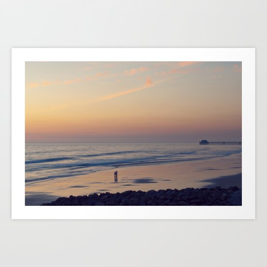 just you and me Art Print