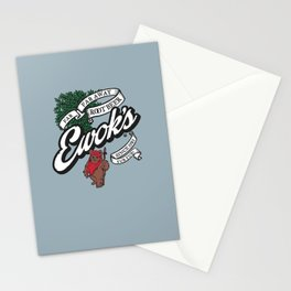 Ewok's Root Beer Stationery Cards