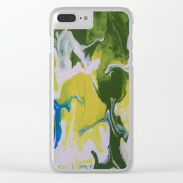 Falling together Clear iPhone Case