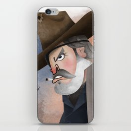Rooster Cogburn iPhone Skin