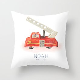 custom baby pillow Throw Pillow