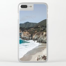 Big Sur Clear iPhone Case