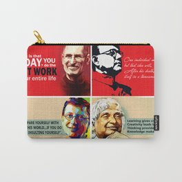 Famous Quote Carry-All Pouch