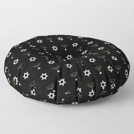 Menorah 19 Floor Pillow