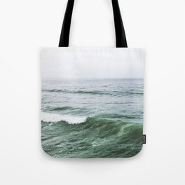 Crashing Waves, San Diego CA Tote Bag