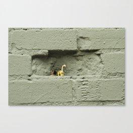 Plastic Age Canvas Print