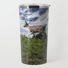 Deer Heading Up the Mountain, No. 1 Travel Mug