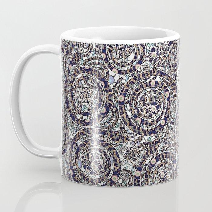 Year of the Snake mosaic Coffee Mug