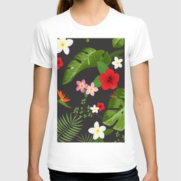 Tropical Flower Background 6 T-shirt