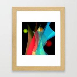 bicubic waves -5- Framed Art Print