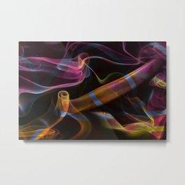 Smoke 02 Metal Print
