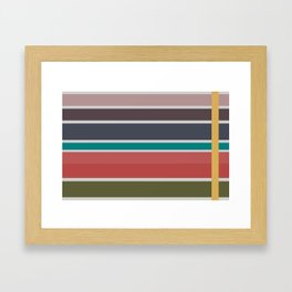 Cooling Summer Framed Art Print