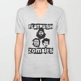 Flatbush Zombies BW Unisex V-Neck