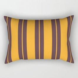 Retro Vintage Striped Pattern Rectangular Pillow