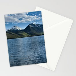 Sunset over Twin Lakes Stationery Cards