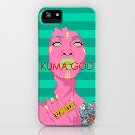Divine Mother iPhone Case