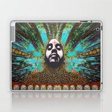 MOON MAN collage painting Laptop & iPad Skin