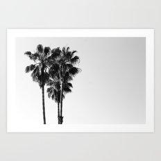 Californian Suburbs Art Print