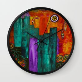 A New Beginning  Wall Clock