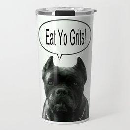 Riggo Monti Design #18 - Eat Yo Grits! Travel Mug