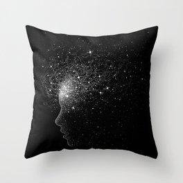 peace of mind Throw Pillow