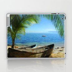 Boats at Las Caletas Laptop & iPad Skin