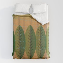 wind n trees Duvet Cover