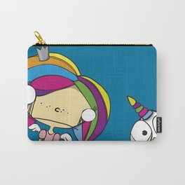 fairy princess and chicken unicorn Carry-All Pouch