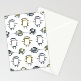 African Cloth Stationery Cards