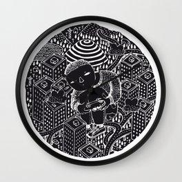 Nightswimming Wall Clock