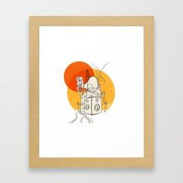 Radio Satla Framed Art Print