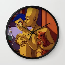 10 YEARS AFTER Wall Clock