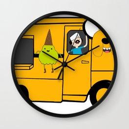 Davey The Ice Cream Man Wall Clock