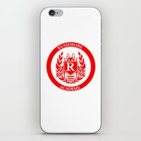 rush iPhone & iPod Skins featuring Rush by FunnyFaceArt