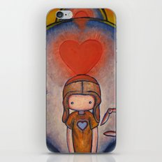The Robot Who Stole My Heart iPhone & iPod Skin
