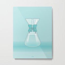 Coffee Maker Series - Chemex Metal Print