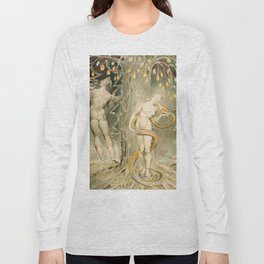 William Blake - The Temptation and Fall of Eve, 1808 Long Sleeve T-shirt