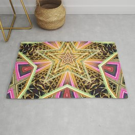 Time Travel Machine Rug