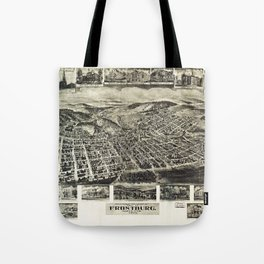 View of Frostburg Maryland by T.M. Fowler (1905) Tote Bag
