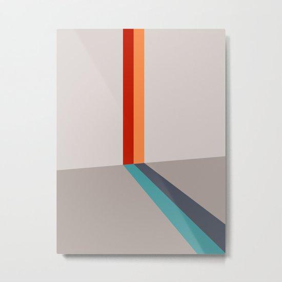 Poligonal 178 Metal Print